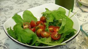 rucula-tomate